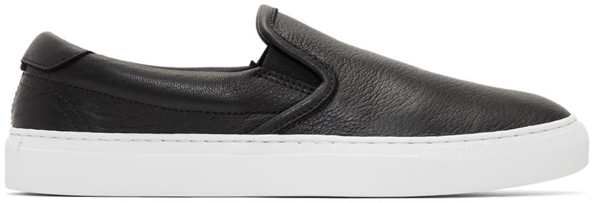 Image of Diemme Black Garda Slip-on Sneakers