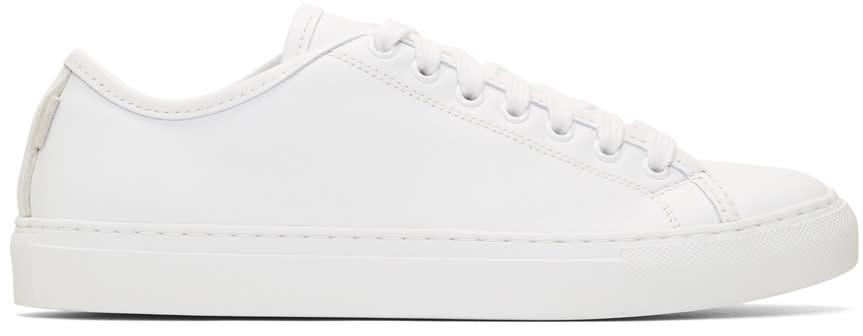 Diemme White Nappa Veneto Sneakers