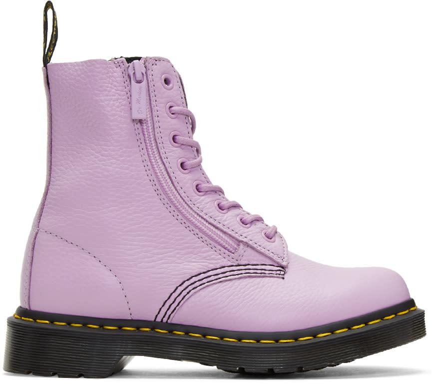 Dr. Martens Purple Pascal Boots