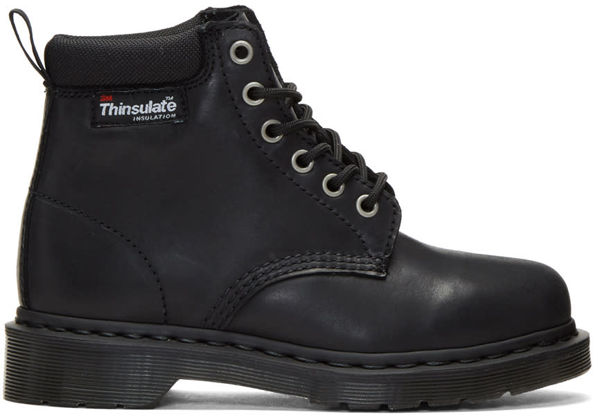 Image of Dr. Martens Black 939 Thinsulate Boots