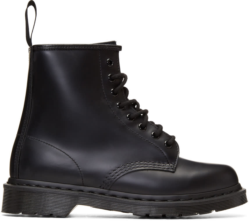 Image of Dr. Martens Black 1460 Mono Boots