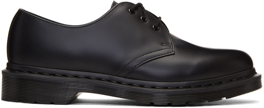 Image of Dr. Martens Black 1461 Mono Derbys