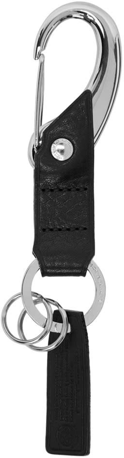 Image of Master-piece Co Black Equipment Series Keychain