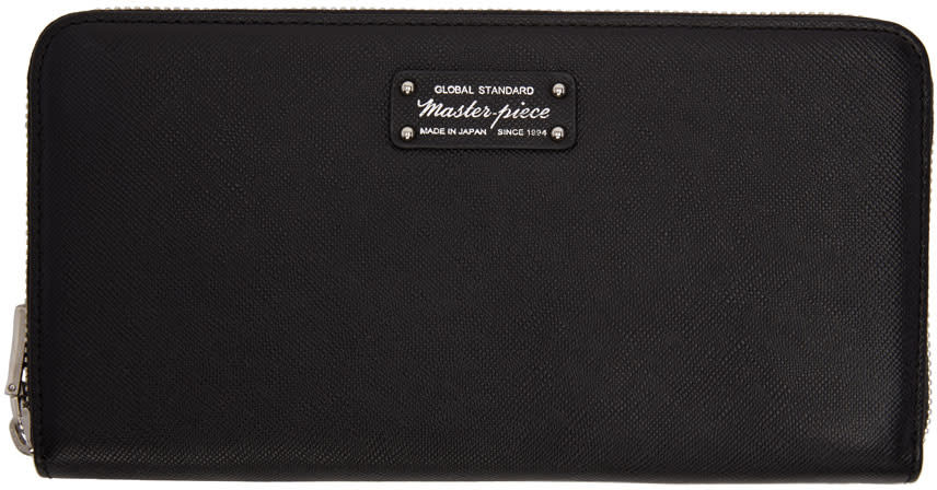 Image of Master-piece Co Black Continental Wallet