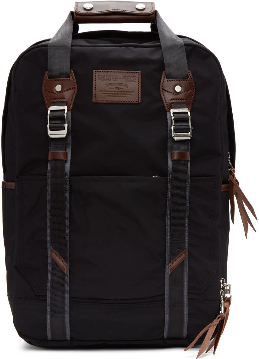 Master-piece Co Black Milly Backpack
