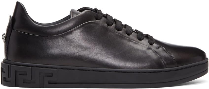 Versace Black Medusa Sneakers