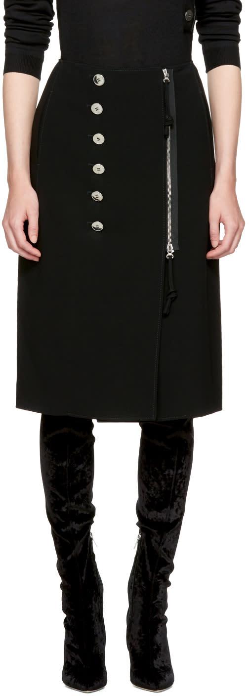 Image of Altuzarra Black Sorrel Skirt