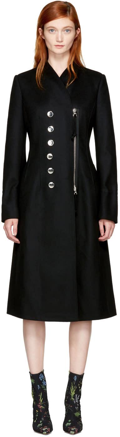 Altuzarra Black Catherine Coat