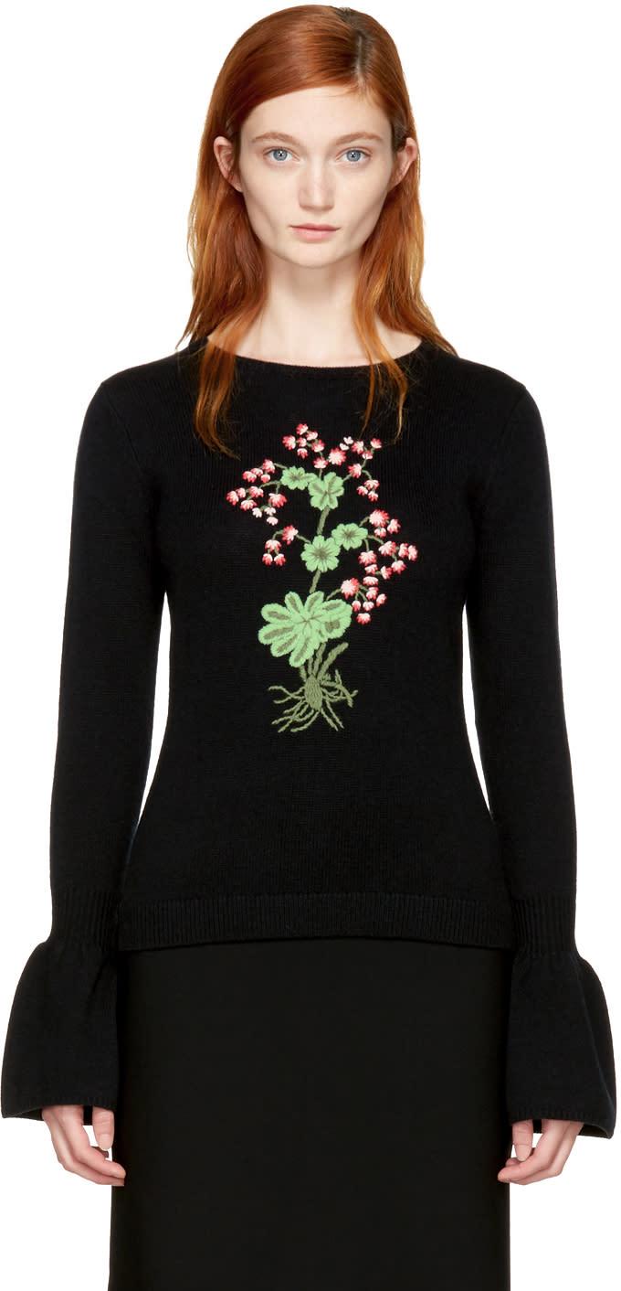 Image of Altuzarra Black Bovary Sweater