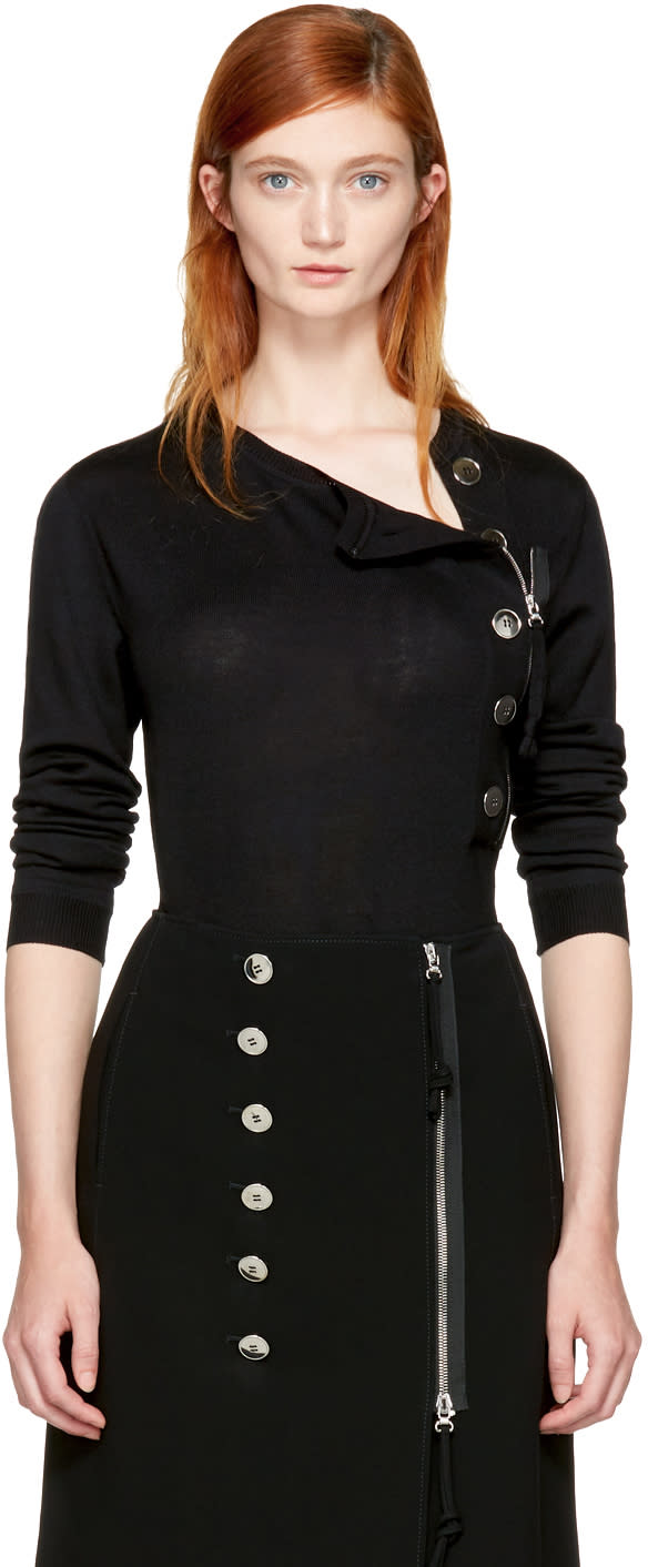 Image of Altuzarra Black Collier Sweater