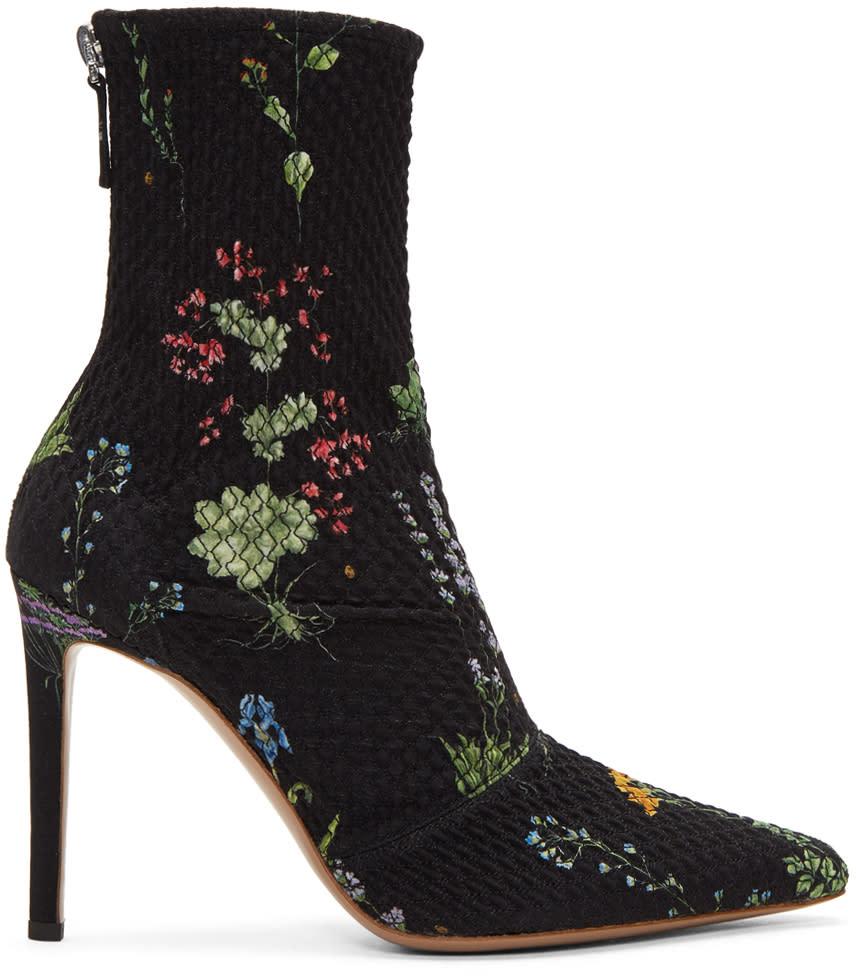 Image of Altuzarra Black Elliot Boots