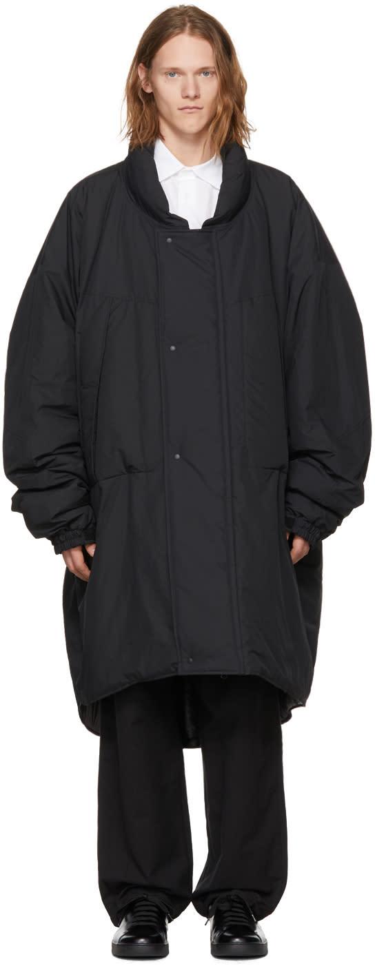 Image of Sasquatchfabrix Black Monster Coat