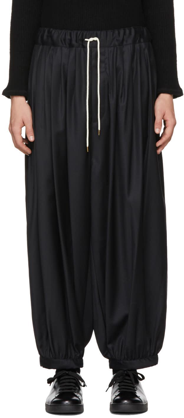 Image of Sasquatchfabrix Black Balloon Trousers