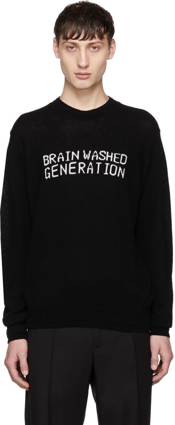 Image of Undercover Black brainwashed Generation Sweater
