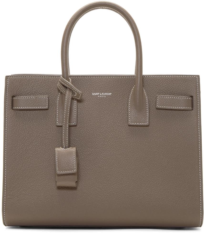 Taupe Baby Bag