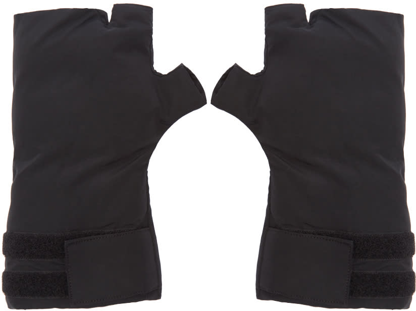 Image of Julius Black Fingeless Gloves