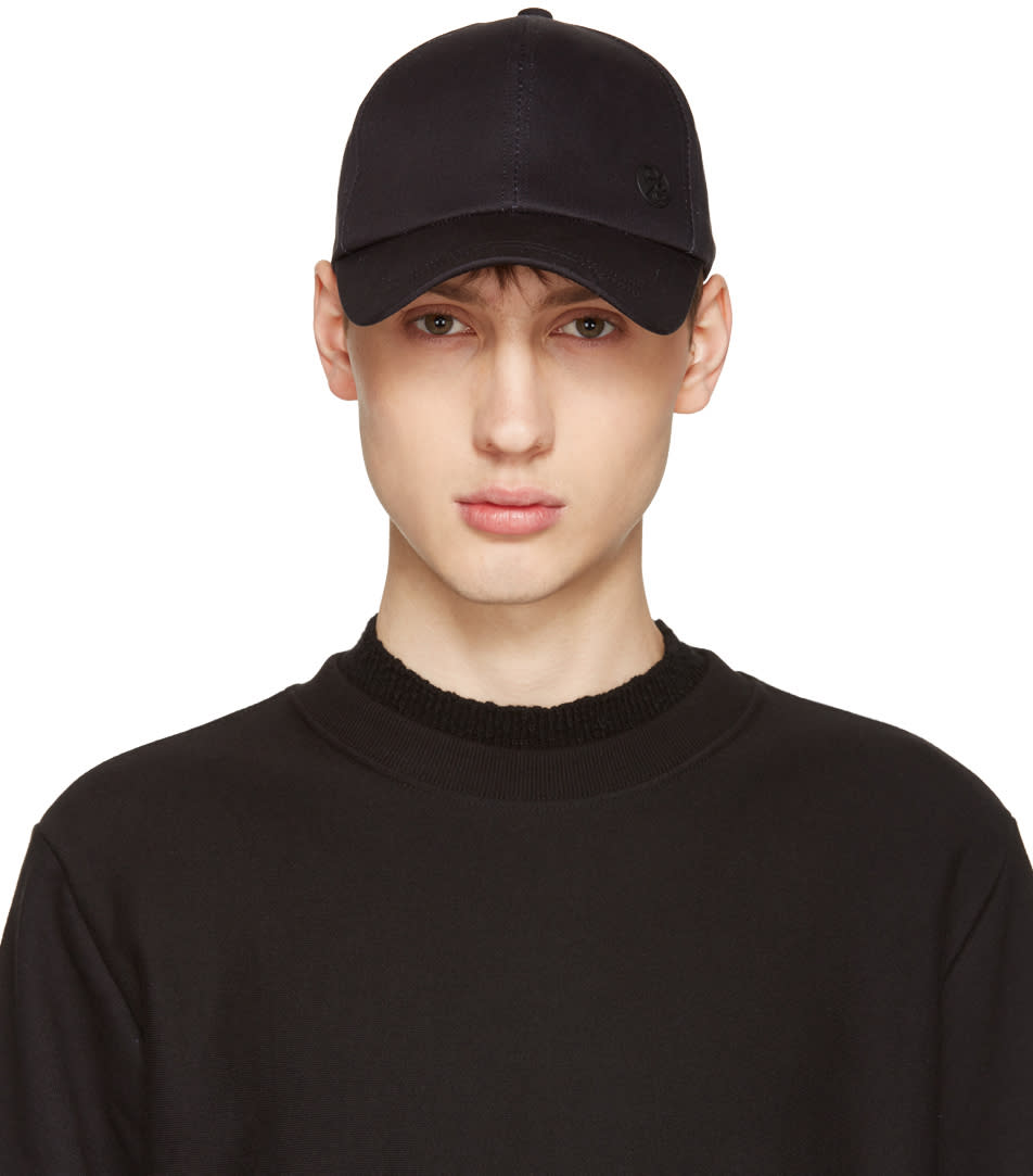 Ps By Paul Smith Black Baseball Cap