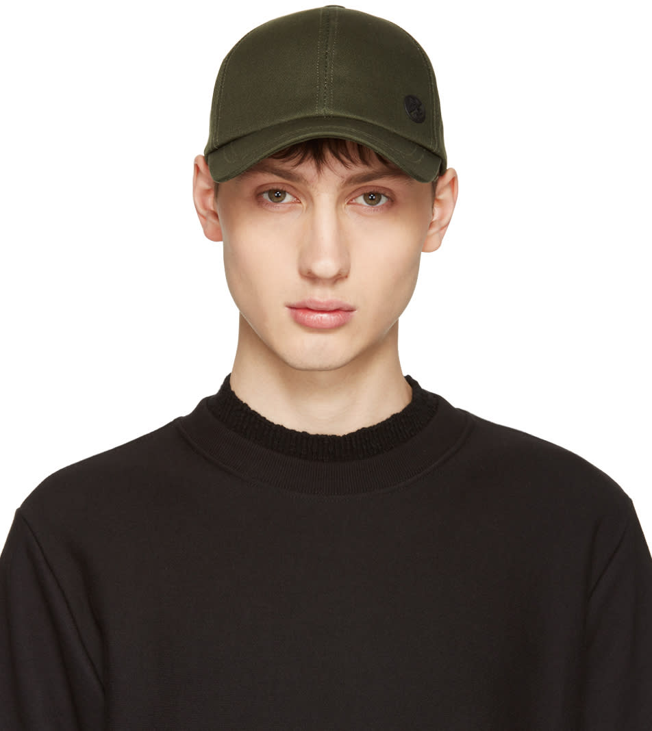 Ps By Paul Smith Green Baseball Cap