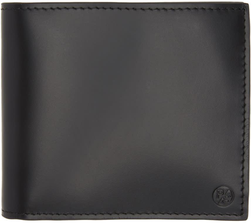 Ps By Paul Smith Black Stripe Billfold Wallet