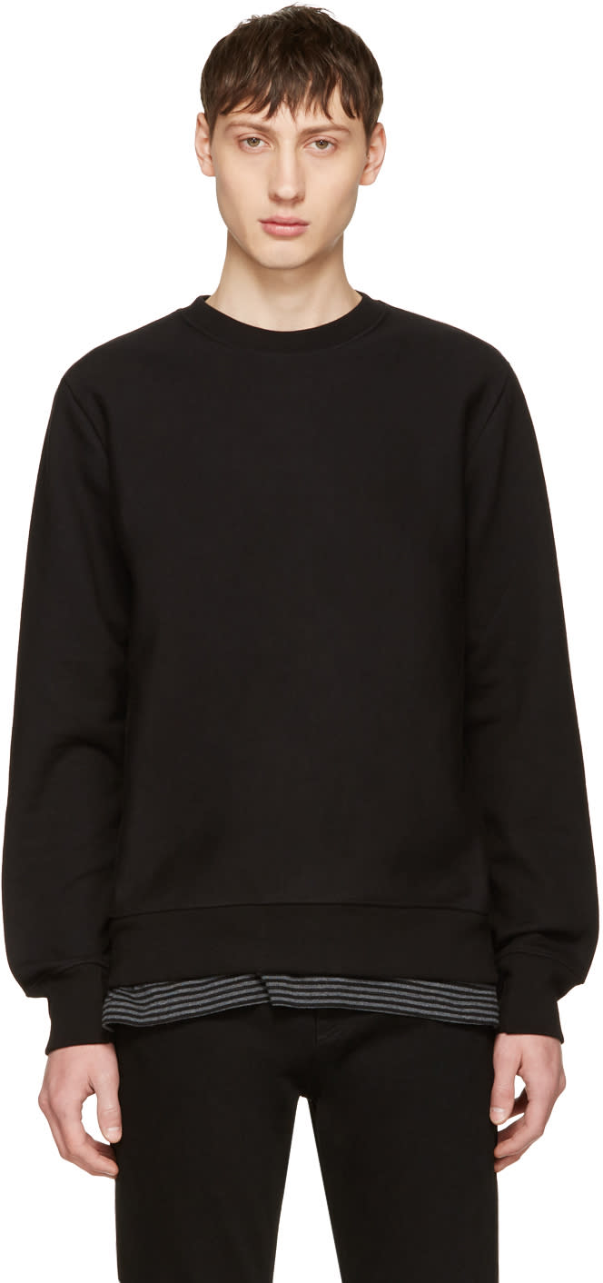 Ps By Paul Smith Black No Zebra Sweatshirt