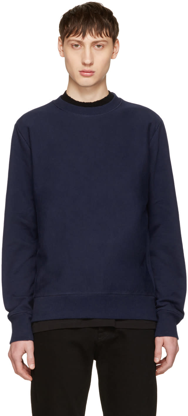 Ps By Paul Smith Indigo No Zebra Sweatshirt