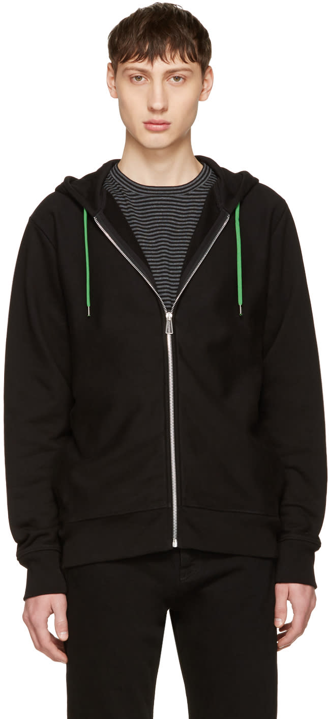 Ps By Paul Smith Black No Zebra Hoodie