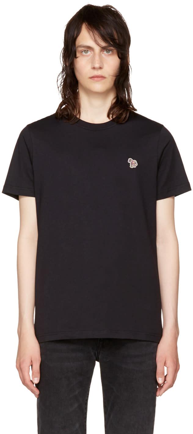 Ps By Paul Smith Black Zebra T Shirt