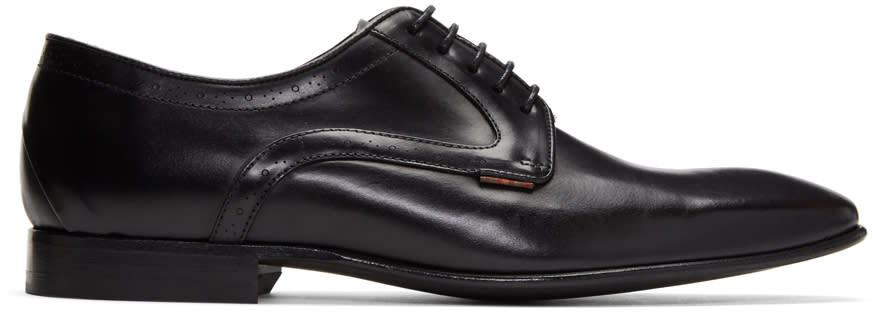 Ps By Paul Smith Black Roth Derbys