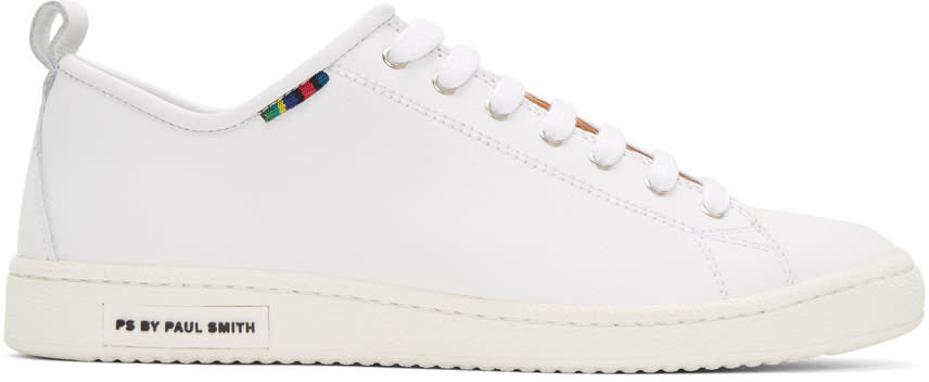 Ps By Paul Smith White Miyata Sneakers