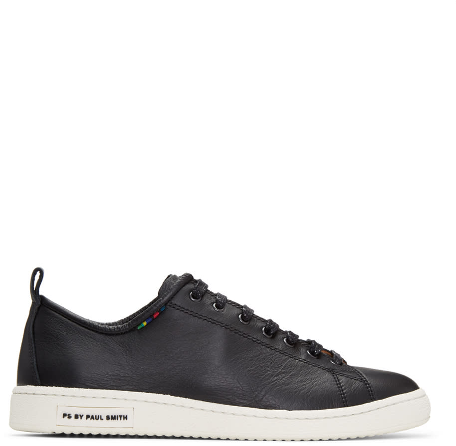 Ps By Paul Smith Black Miyata Sneakers