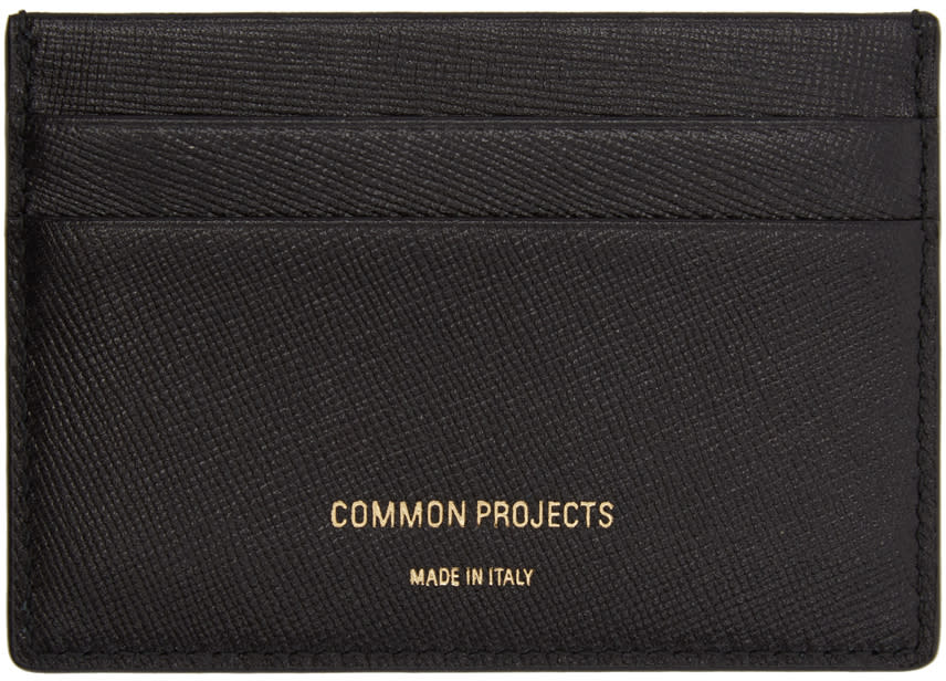 Image of Woman By Common Projects Black Multi Card Holder