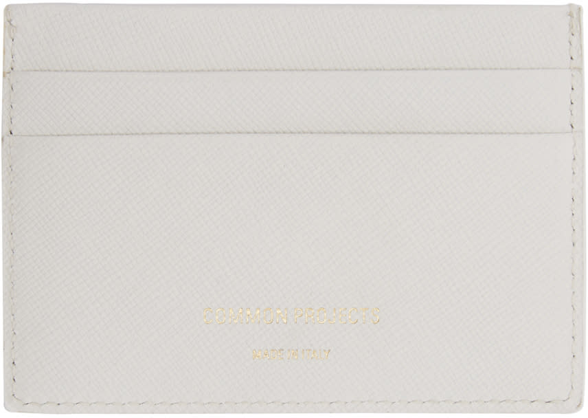 Woman By Common Projects Off-white Multi Card Holder