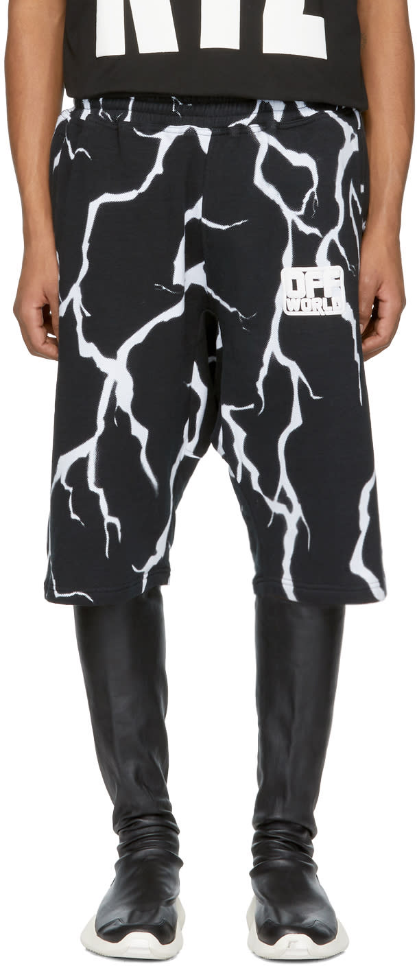 Image of Ktz Black and White off World Thunder Shorts