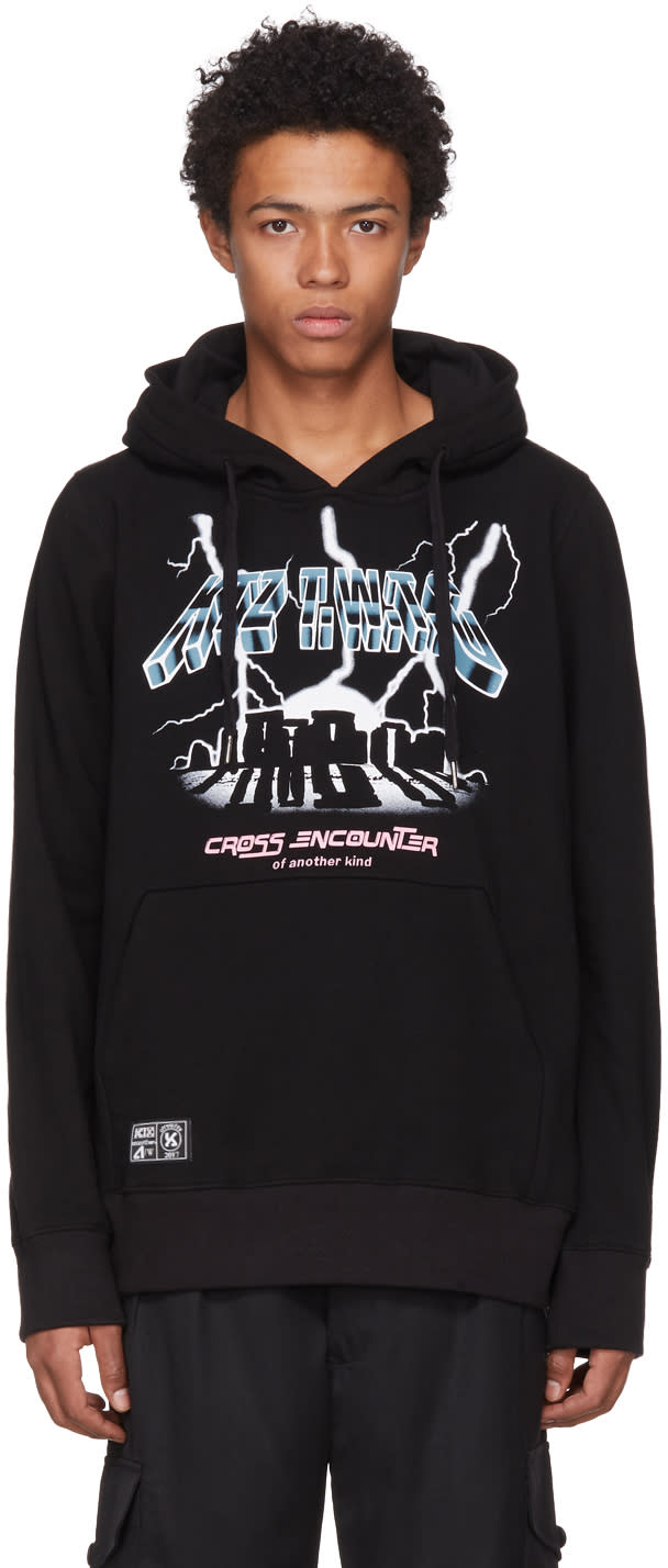 Image of Ktz Black cross Encounter Of Another Kind Hoodie