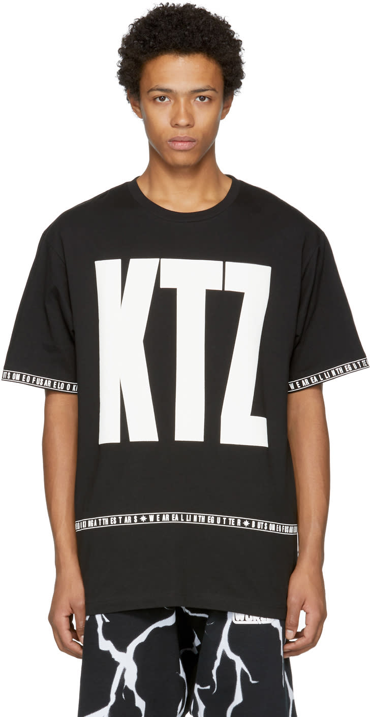 Image of Ktz Black Letter T-shirt