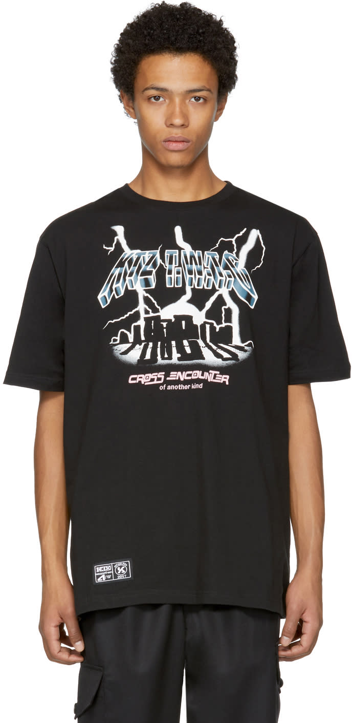 Image of Ktz Black cross Encounter T-shirt