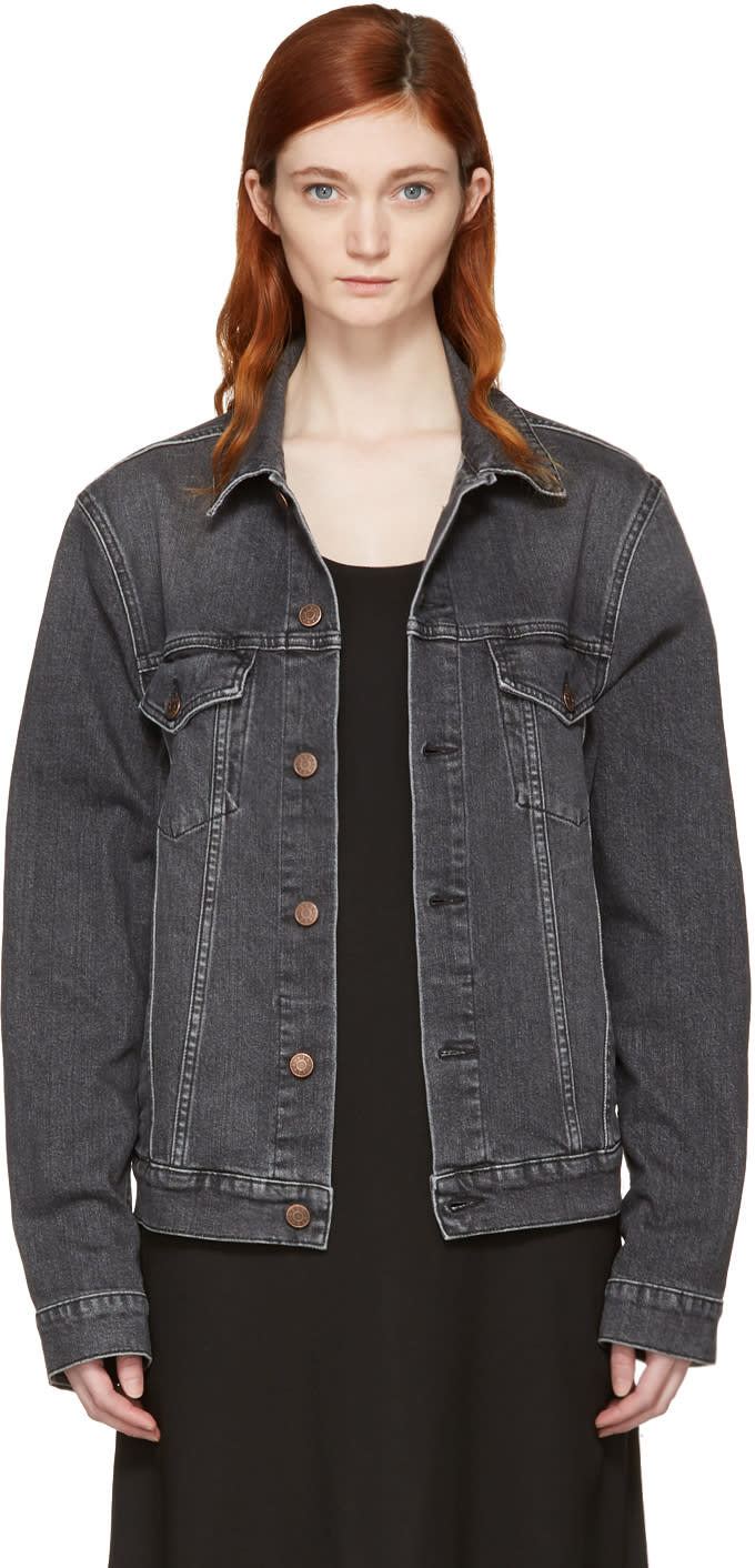 Image of 6397 Black Jean Jacket