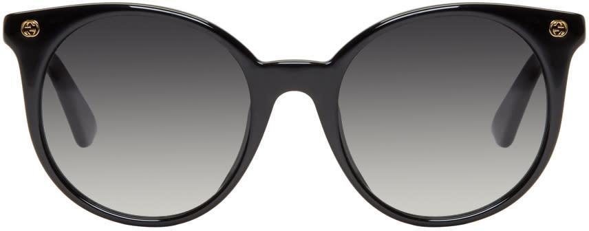 Gucci Black Pantos Sunglasses