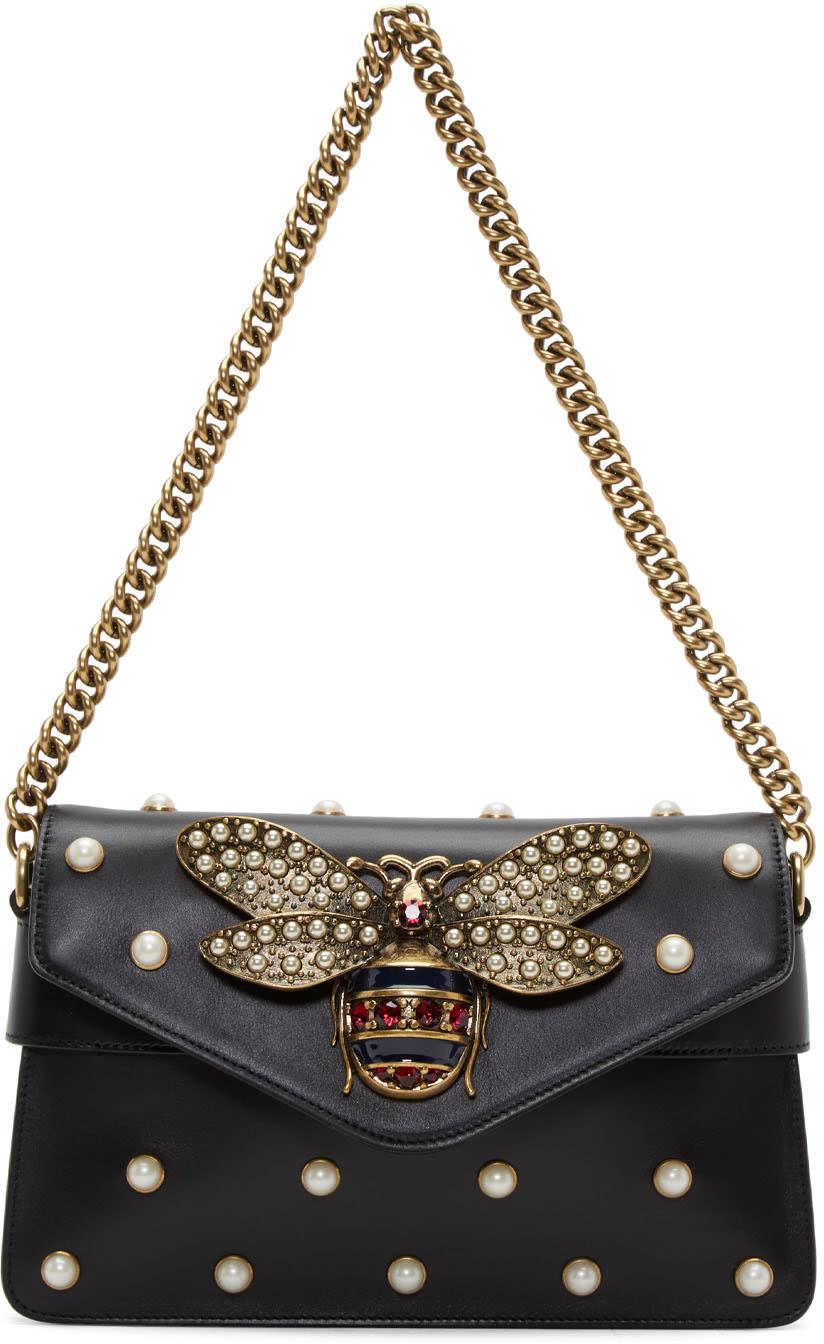 Gucci Black Broadway Clutch Bag
