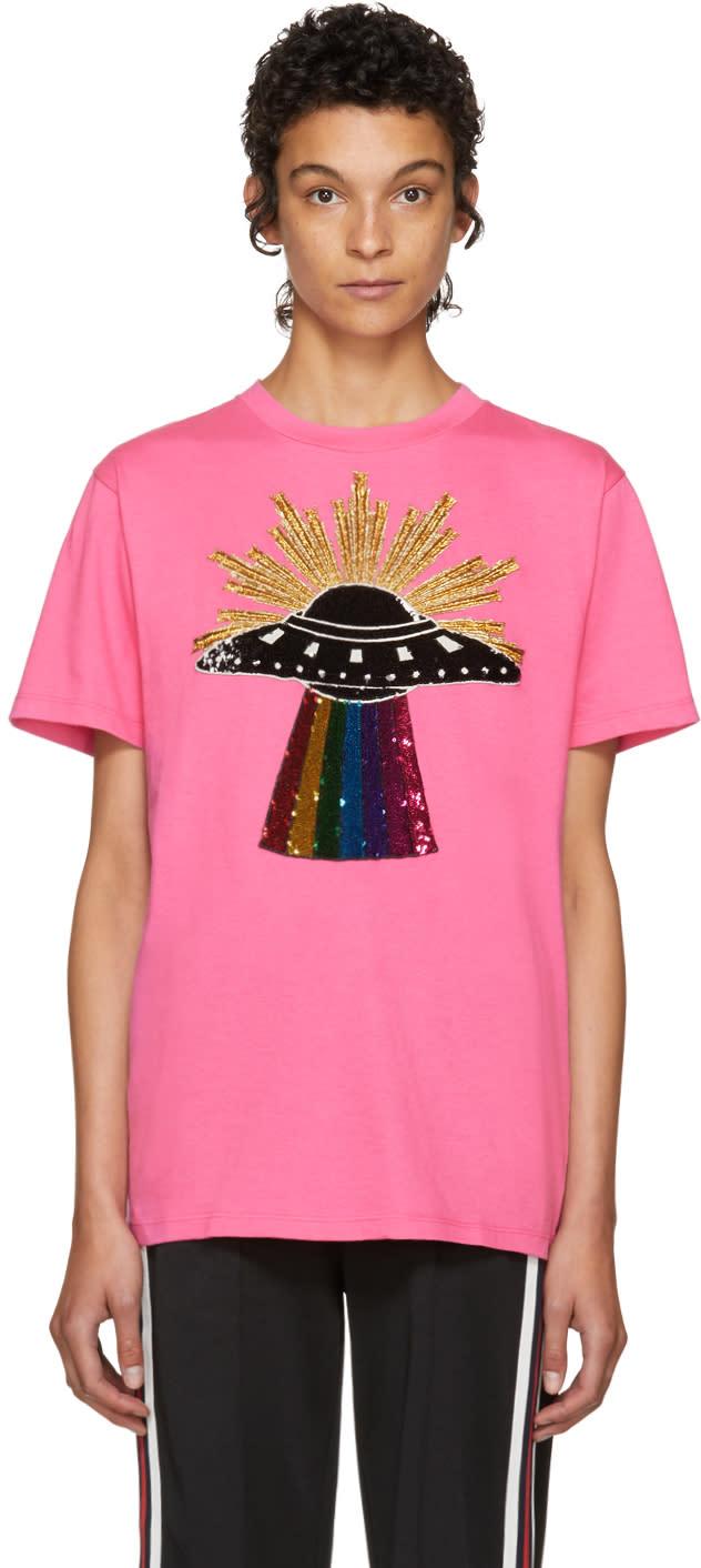 3c26a6e18 Gucci Pink Ufo T shirt