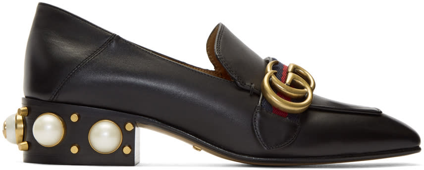GucciBlack Pearl Peyton Loafers
