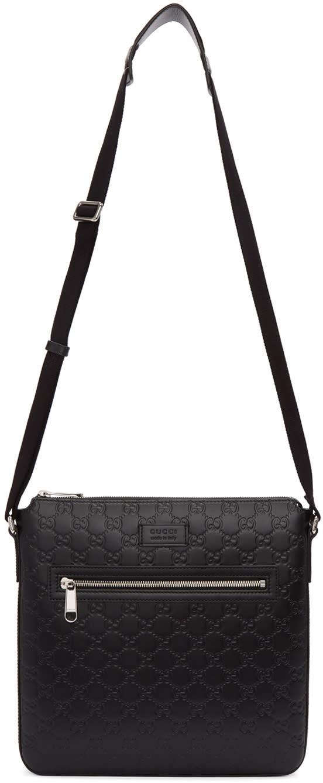 22f0acc08 Gucci Black gucci Signature Messenger Bag
