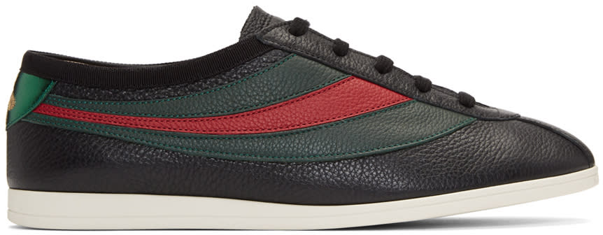 94552ff0b276 Gucci Black Falacer Sneakers