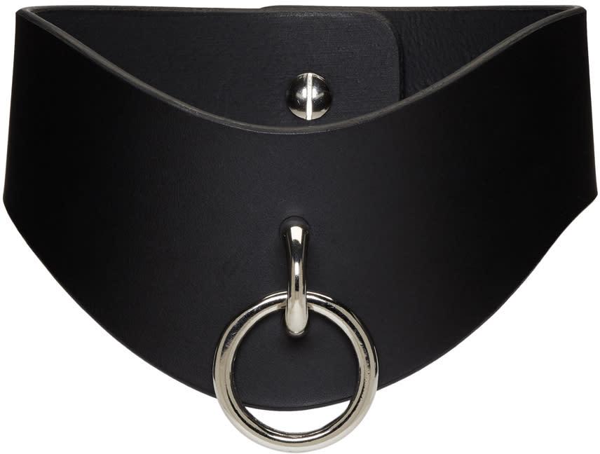 Image of Fleet Ilya Black O Ring Curved Collar