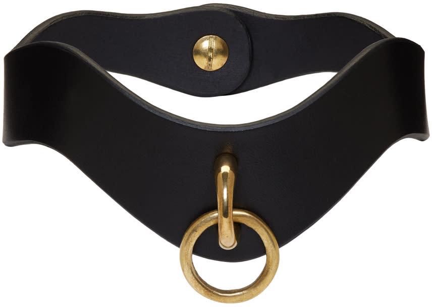 Image of Fleet Ilya Black Slim O Ring Collar