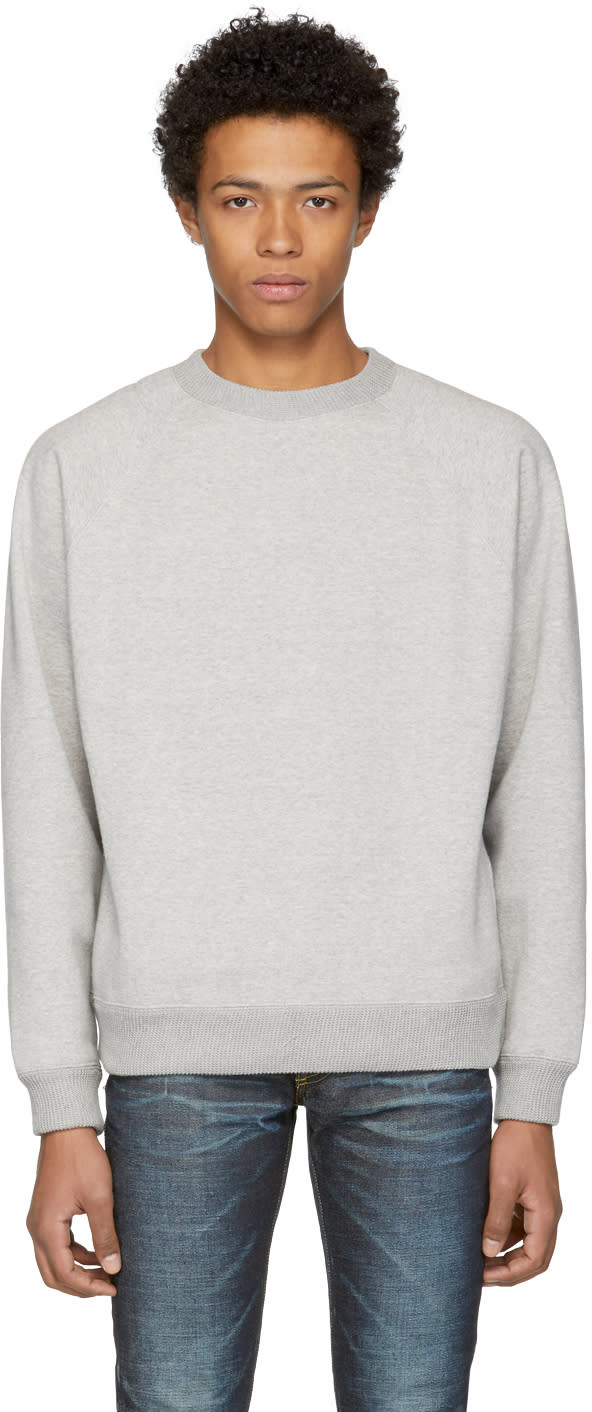 Image of Nanamica Grey Crewneck Sweatshirt