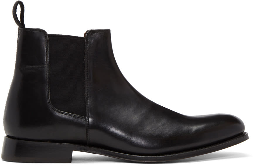 Image of Grenson Black Declan Boots