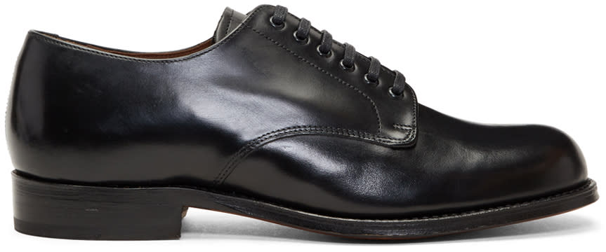 Image of Grenson Black Leo Derbys