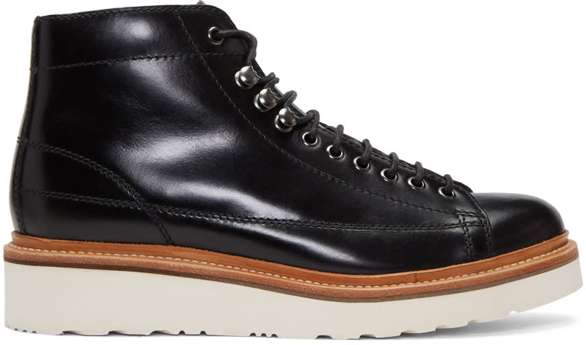 Image of Grenson Black Andy Boots