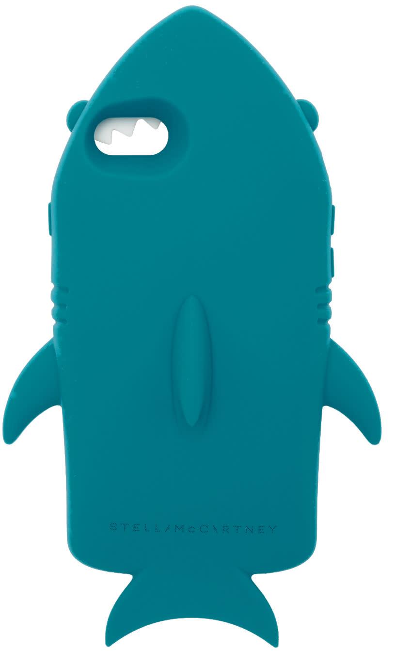new product 73582 e5f08 Stella Mccartney Blue Shark Iphone 7 Case